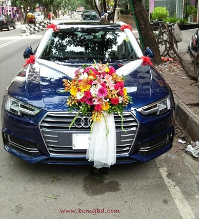 Audi Wedding car Hire In Uttara Dhaka Bangladesh