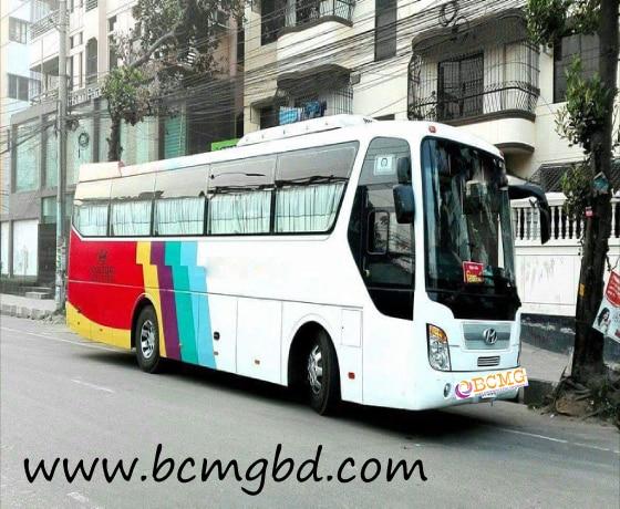 40 seater bus service in Habiganj,Dhaka,Bangladesh