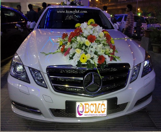 Get Mercedes Benz On Rent For Wedding In Shah Ali Dhaka