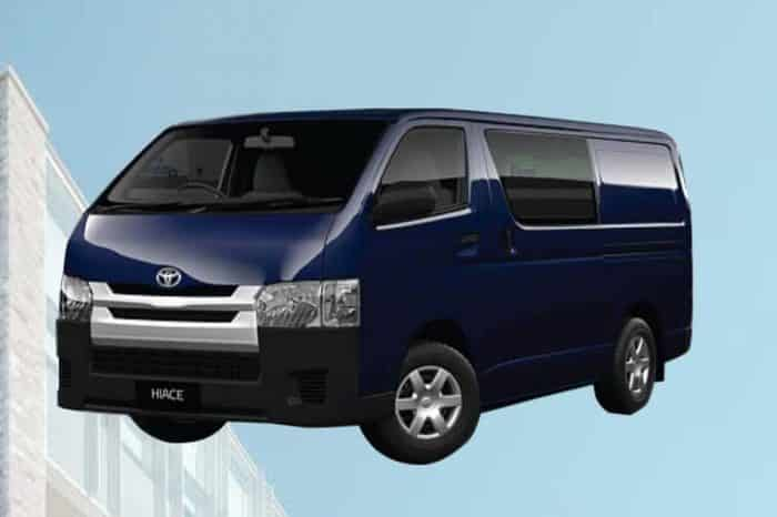 Toyota 7 seat Hiace Micro Bus on Hire for Eid Transport From Dhaka