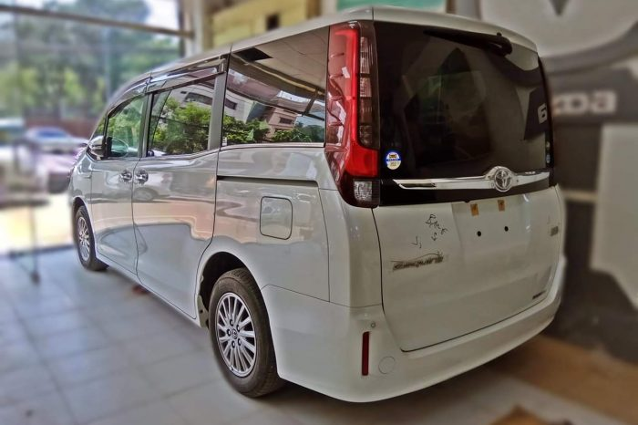 Toyota 8 seat Premium Micro Bus on Hire for Eid Transport From Dhaka