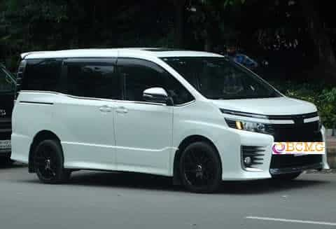 Toyota 7 seat Noah Micro Bus on Hire for Eid Transport From Dhaka
