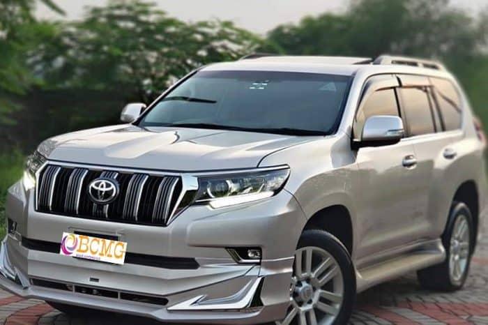 Toyota 7 seat Land Cruiser Prado Hire for Eid Transport From Dhaka