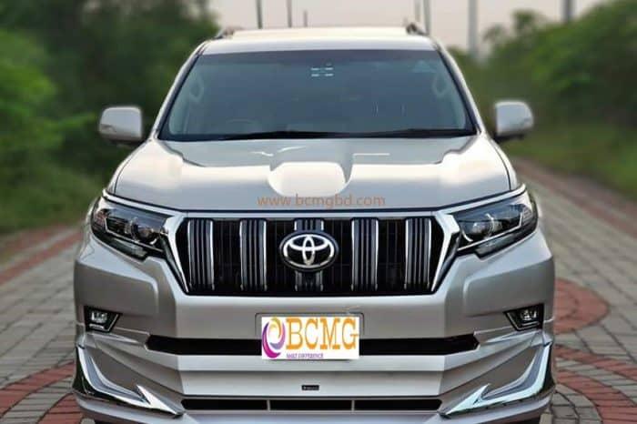 Exclusive Land Cruiser Prado SUV Hire in Gulshan Dhaka Bangladesh