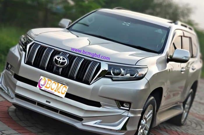 Get New Land Cruiser SUV Rental Service for any Event in Banani Dhaka