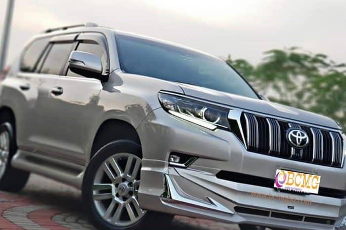 Toyota Land Cruiser 7 seat Prado SUV Hire for Eid Transport From Dhaka