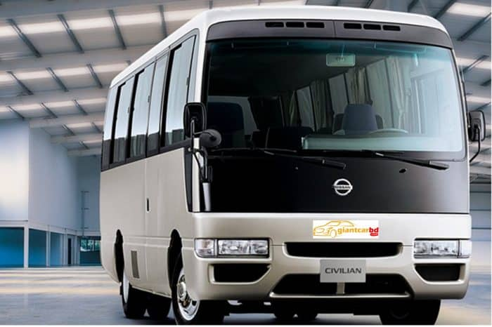 Get Monthly Ac Mini Bus Rental for Office Transport in Malibag Dhaka
