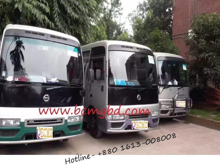 AC Mini Tourist bus rental service in Paltan Dhaka