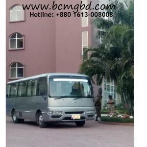 Tourist bus service in Savar
