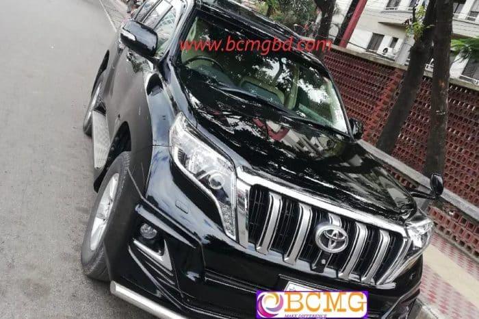 Toyota Land Cruiser V8 SUV Rental Agency In Bashundhara Dhaka