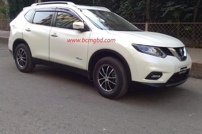 Nissan 4 seat X-Trail Crossover on Hire for Eid Transport From Dhaka