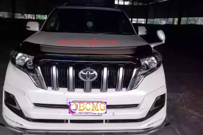 Toyota 5 seat Land Cruiser Prado on Hire for Eid Transport From Dhaka