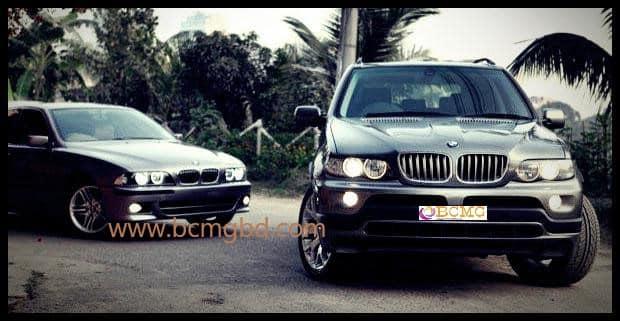 Grab Exotic BMW Car Rental for Wedding in Adabor Dhaka