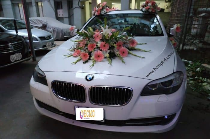 Grab Exotic BMW Car Rental for Wedding in Mohammadpur Dhaka