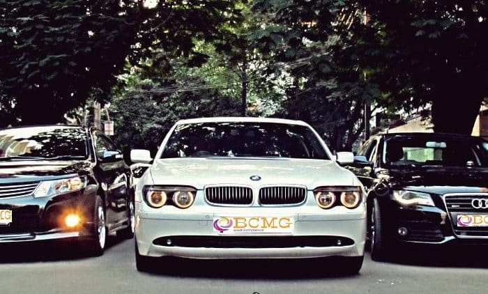 Grab Exotic BMW Car Rental for Wedding in Bimanbandar Dhaka