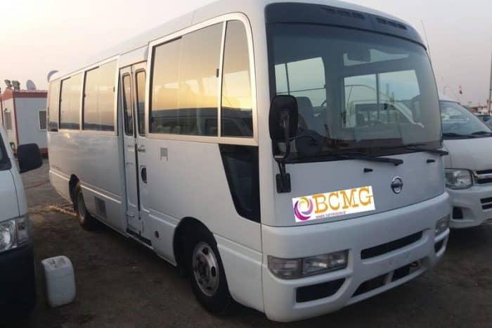 Get Monthly Ac Mini Bus Rental for Office Transport in Dhanmondi Dhaka
