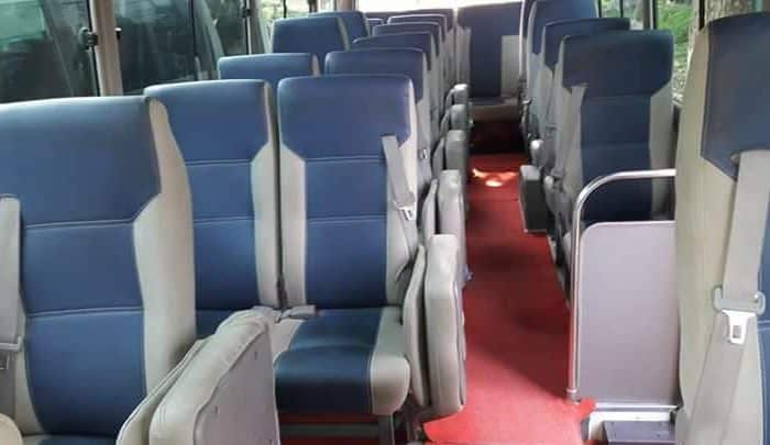 Get Monthly Ac Mini Bus Rental for Office Transport in Turag Dhaka