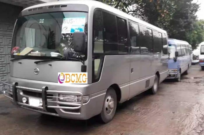 Get Monthly Ac Mini Bus Rental for Office Transport in Shah Ali Dhaka