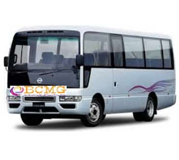 Get Monthly Ac Mini Bus Rental for Office Transport in Rampura Dhaka
