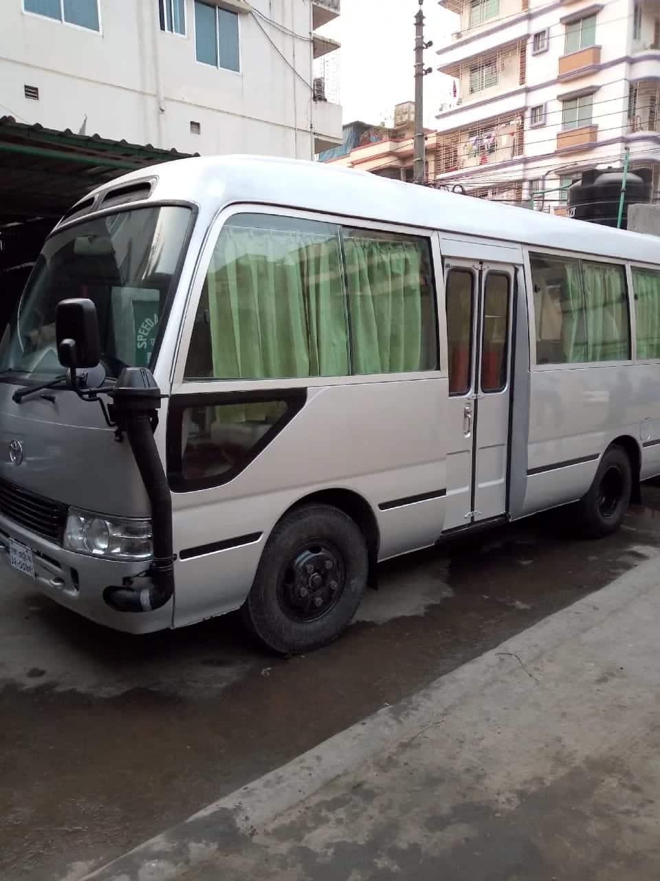Bus Rent Gulshan Dhaka Bangladesh