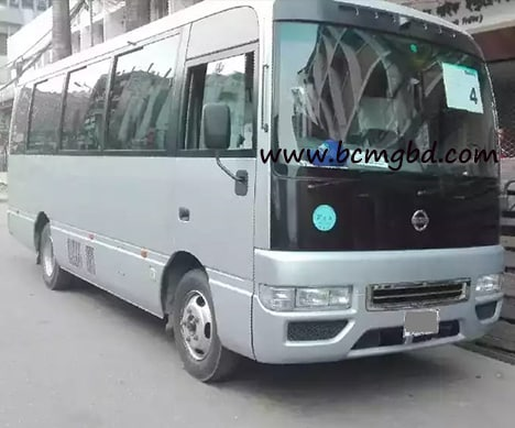 Giant car provide AC Minibus rental service in Bangshal Dhaka