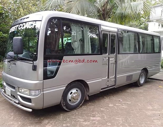 Get Monthly Ac Mini Bus Rental for Office Transport in Jatrabari Dhaka