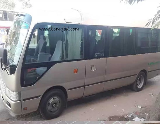 Get Monthly Ac Mini Bus Rental for Office Transport in Adabor Dhaka