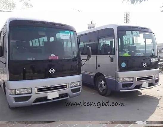 Get Monthly Ac Mini Bus Rental for Office Transport in Sreepur Dhaka