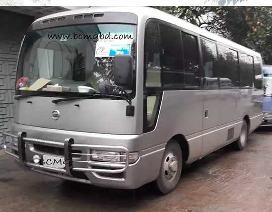 Get Monthly Ac Mini Bus Rental for Office Transport in Gendaria Dhaka