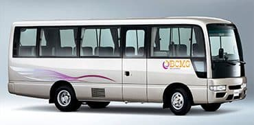 Giant car provide AC Minibus rental service in Bhatara Dhaka