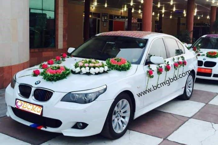 Gran Exotic BMW Car Rental For Wedding in Turag Dhaka