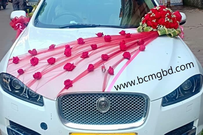 Exotic Jaguar Rental Service Available For Wedding In Dhaka