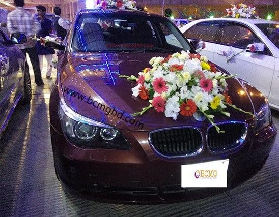 Grab Exotic BMW Car Rental for Wedding in Dakshinkhan Dhaka