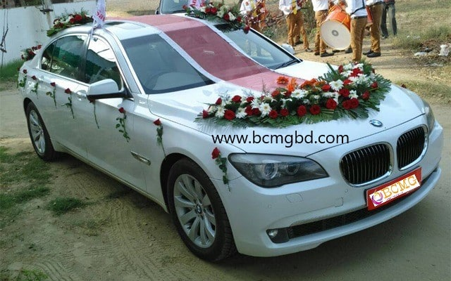 Get BMW On Rent For Wedding In Shahbagh Dhaka