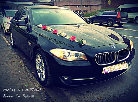 Grab Exotic BMW Car Rental for Wedding in Kalabagan Dhaka