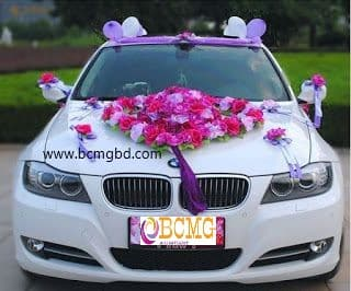 Luxurious Wedding Car Rental In Dhaka