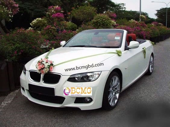 Exotic Roadster BMW rental available for wedding in Gulshan Dhaka