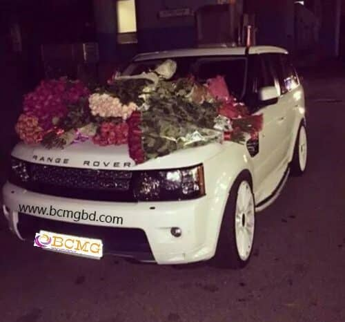Eye Catching Exotic Range Rover rental available for any event in Dhaka