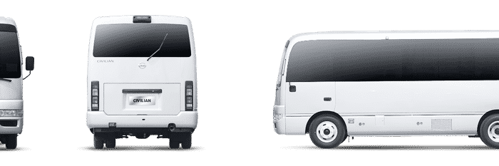 Giant car provide AC Minibus rental service in Bhashantek Dhaka