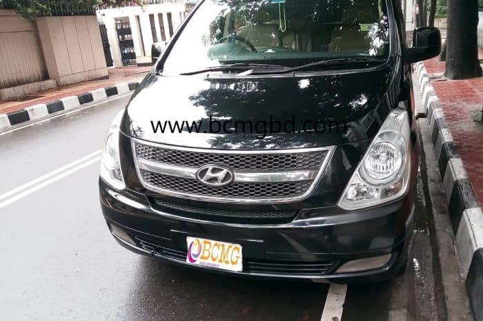 Hyundai H1 2015 8 Seat Micro-Bus Hire In Mauna Gazipur Dhaka