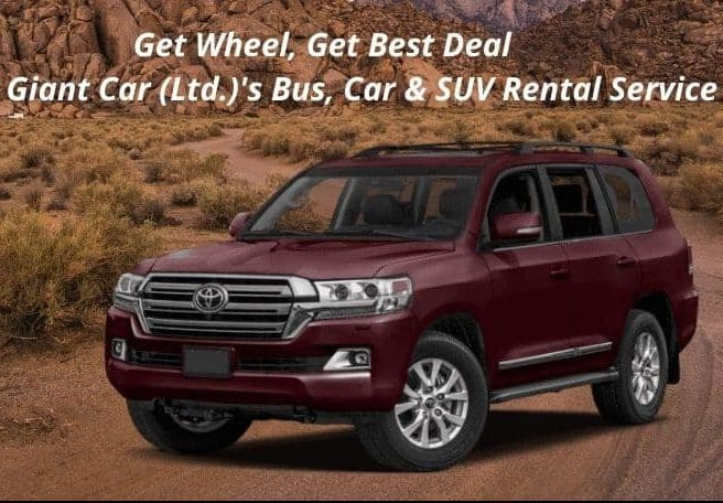 Car Rental Services Offer With More Comfort With Giant Car Ltd BD