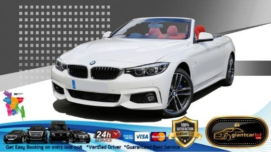 Luxurious BMW Convertible Car on Hire service for Event in Uttara Dhaka