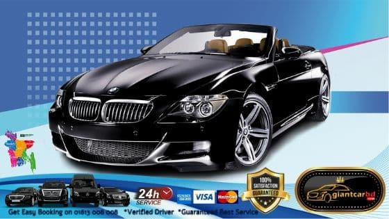 Luxurious BMW Convertible Car Rental Facilities In Dhanmondi Dhaka