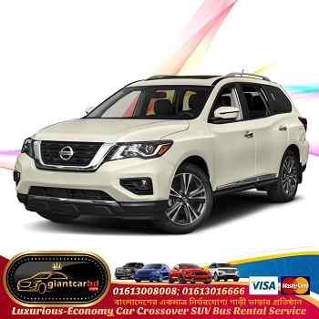 Get Nissan 5 seat X-Trail Car on Hire from Dhaka to Kushtia