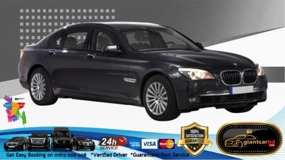 Exclusive Luxurious BMW Car available for rent in Uttara Dhaka