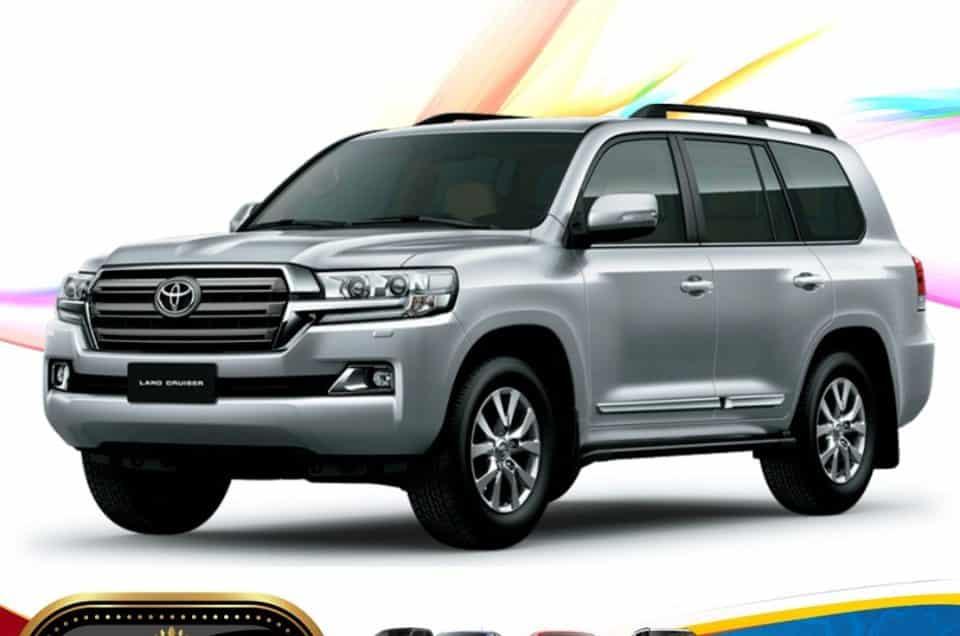 Toyota Land Cruiser SUV Yearly Rental Service In Dhaka