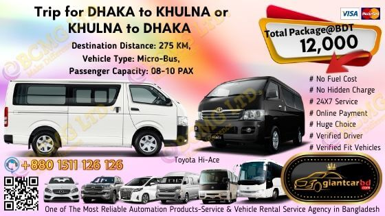 Dhaka to Khulna
