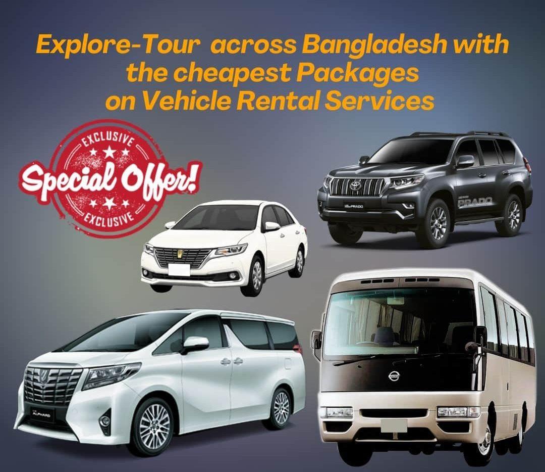 car booking in Utara Dhaka Bangladesh