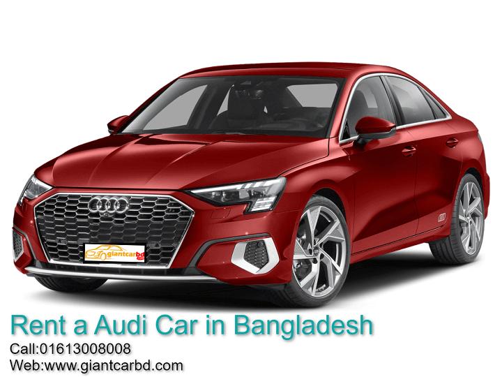 Audi Car Rental Service in Bangladesh