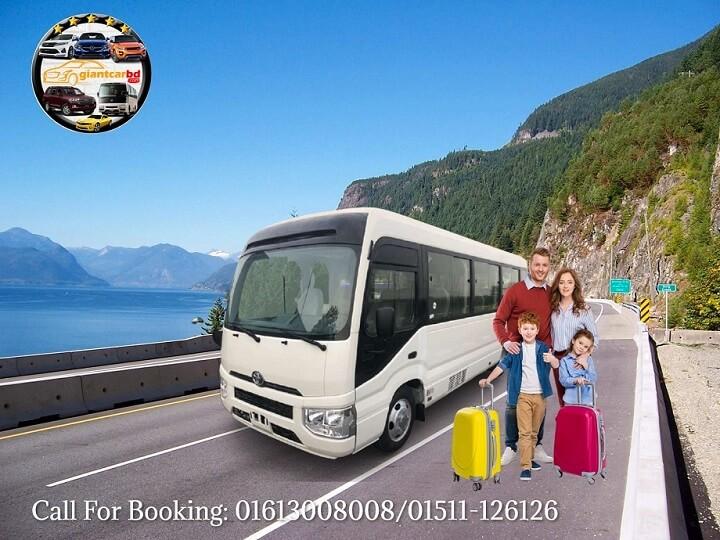 Dhaka to Sajek valley Tourist Bus Rental
